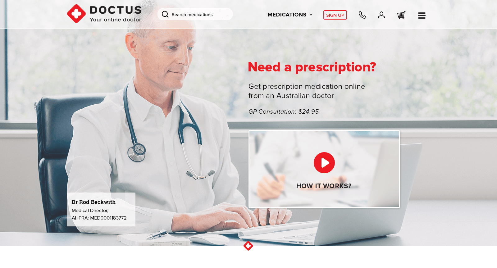 Doctus, online medical prescriptions