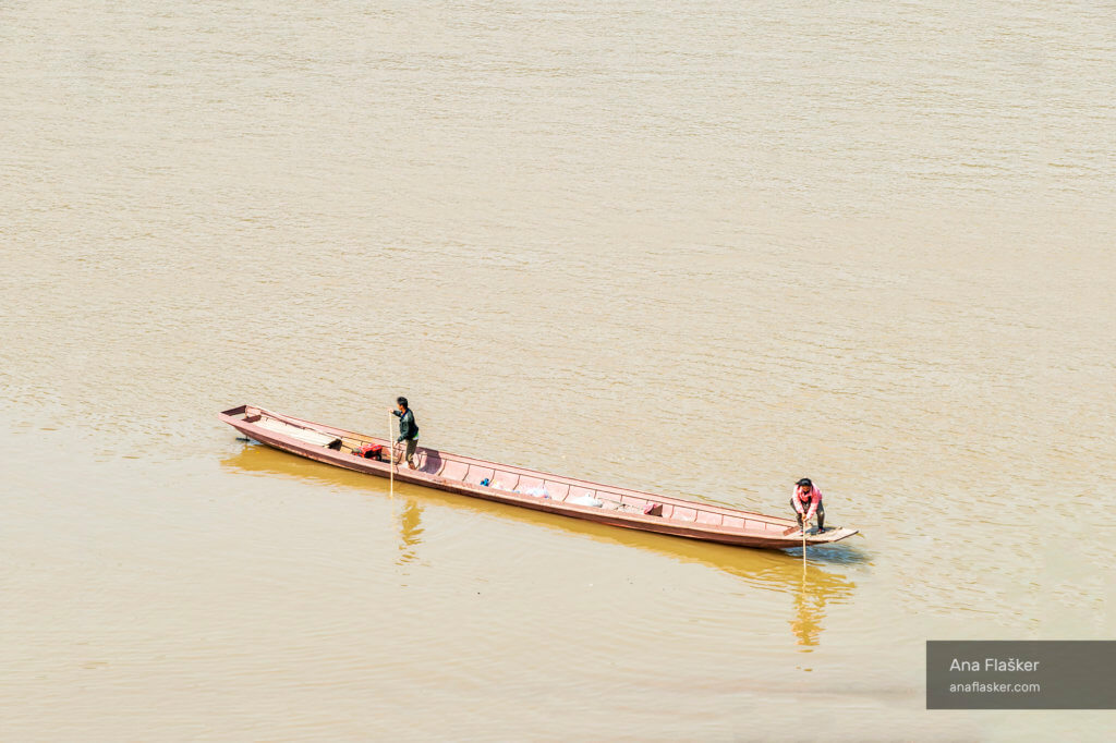 On Mekon River, Laos
