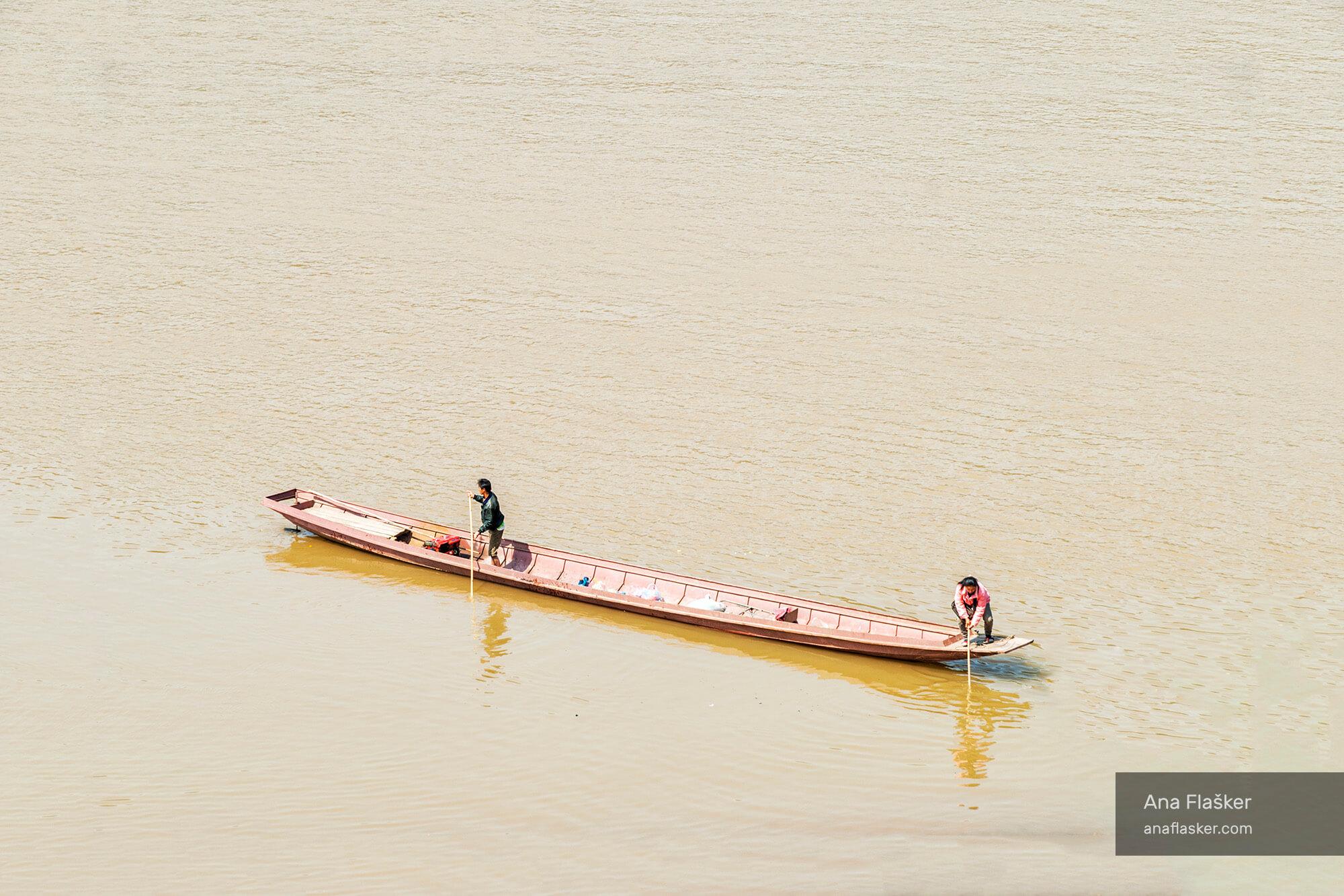 On Mekon River, Laos
