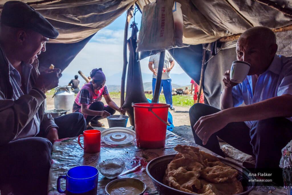 Kyrgyzstan hospitality and kumis
