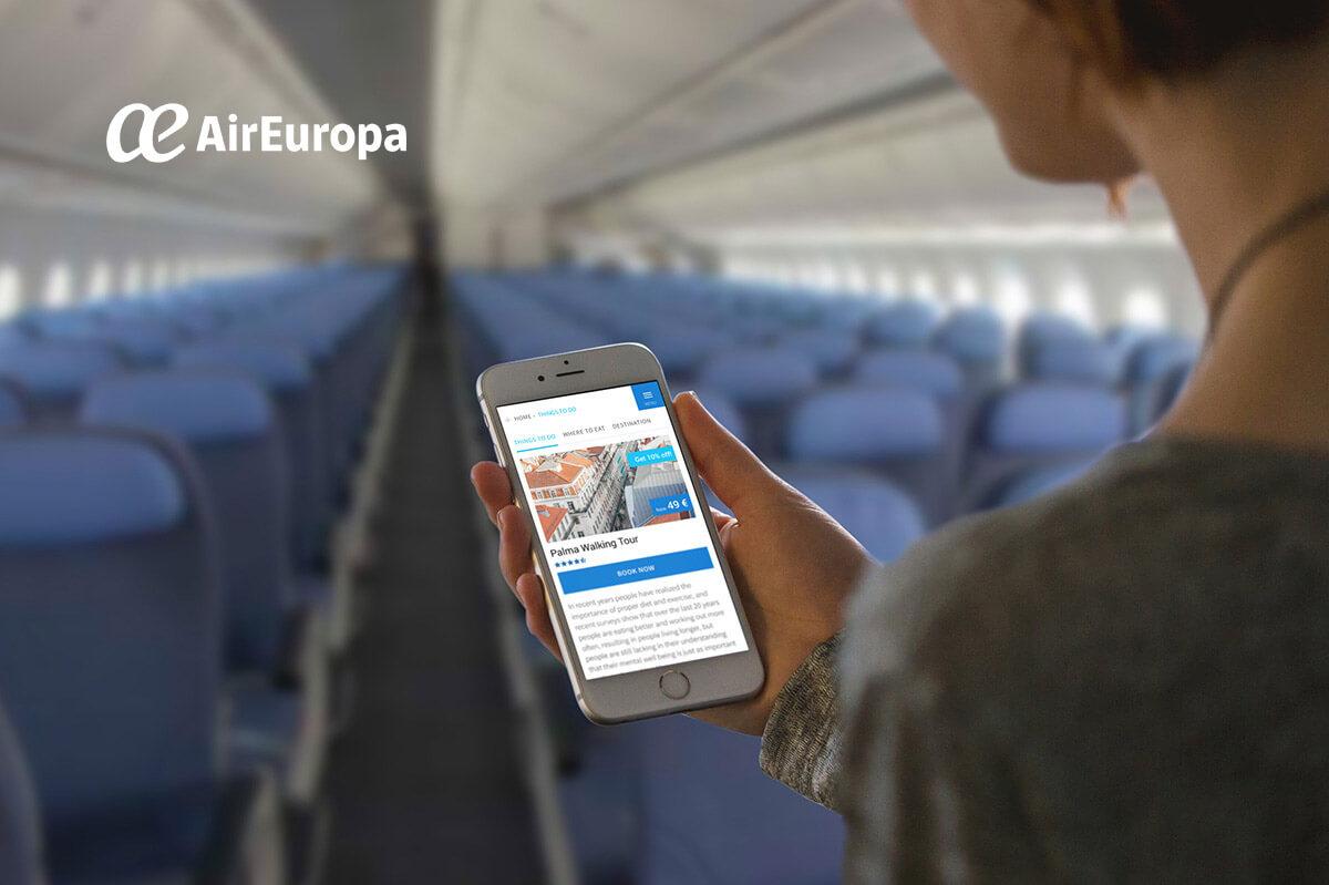 Air Europa In-Flight Portal